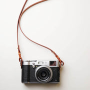 Hoden leather camera strap Light coffee