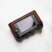 half case for Leica CL Red brown