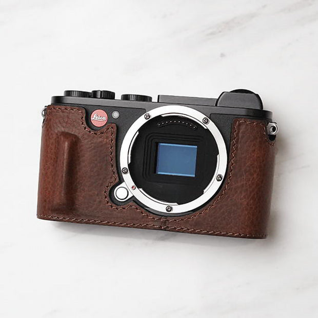 half case for Leica brown