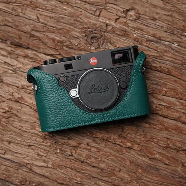half case for Leica M10 Green