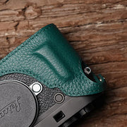 half case for Leica camera Green