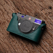 Leather half case for Leica M10