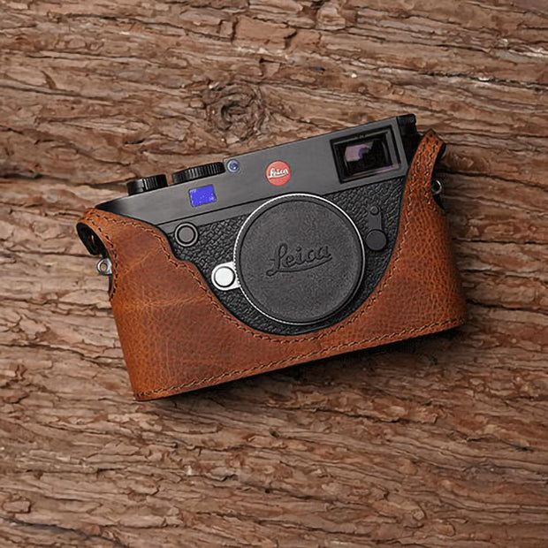 behind of camera half case for Leica M10