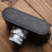 Leather camera half case <br>for Leica M9 M Black