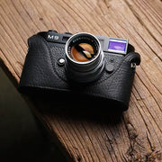 bottom  of Leather half case for Leica M9 M