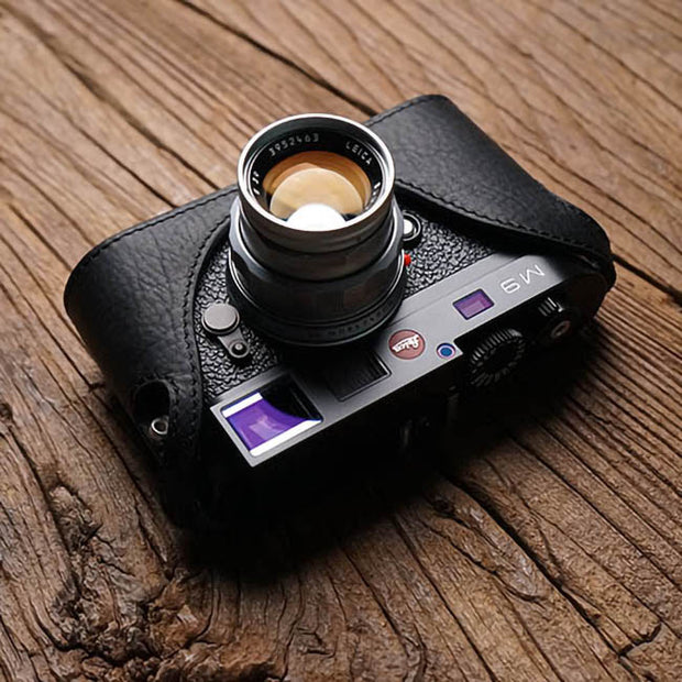 camera half case for Leica