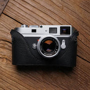 Leather half case for Leica M9 M