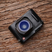 Leather half case for Leica Q