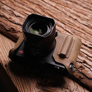 half case for Leica Q in horse color