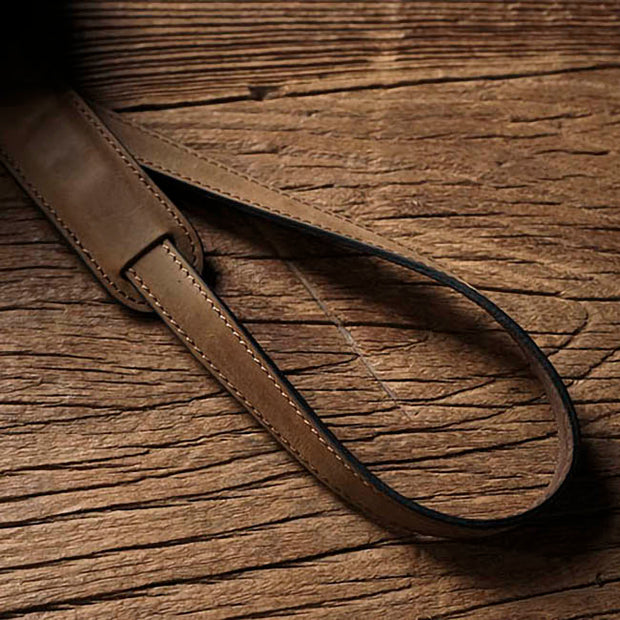 Purst leather strap