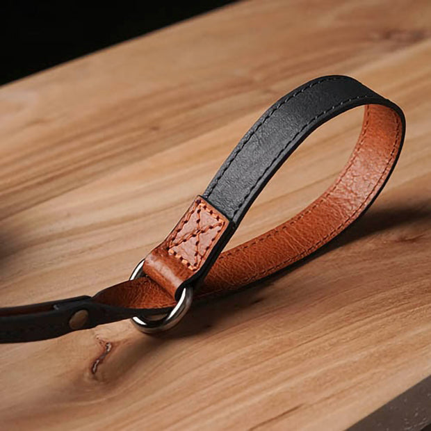 Selino Leather camera wrist strap
