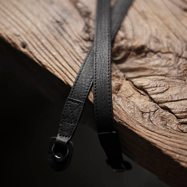 Sterly leather strap Black