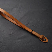 Strace leather wrist strap