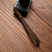 Strano leather camera wrist strap Horse color