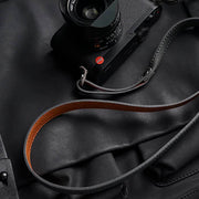camera strap Gray brown