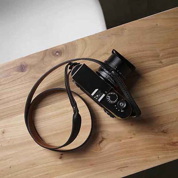 Vestic leather camera strap
