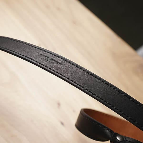 leather strap Black Brown