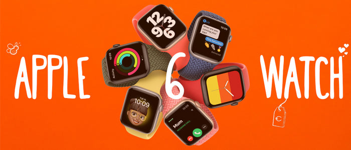 De nieuwste smartwatch van Apple: de Apple Watch 6