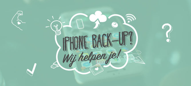 Hoe maak je een back-up/reservekopie van je iPhone of iPad?