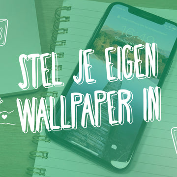 Stel je eigen wallpaper in op je iPhone en iPad