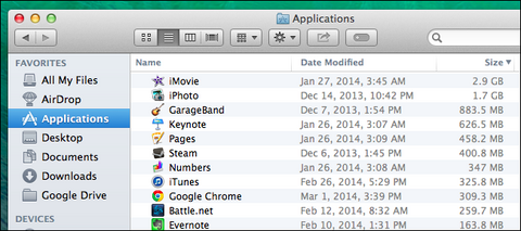 applications macbook