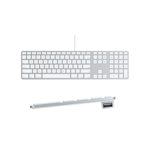 LMP Apple Wired Keyboard with Numeric Keypad (QWERTY)