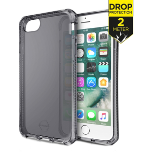 ITSKINS Level 2 SpectrumClear voor Apple iPhone 6/6S/7/8/SE (2020) - Zwart