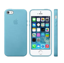 Apple iPhone case blauw voor iPhone 5/5s/SE