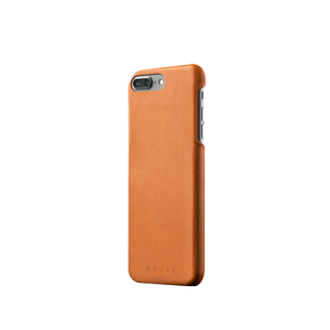 Mujjo Leren Case voor iPhone 8 Plus / 7 Plus - Tan