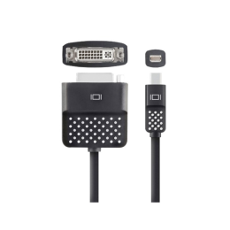 Belkin Mini Display naar DVI Adapter - Zwart