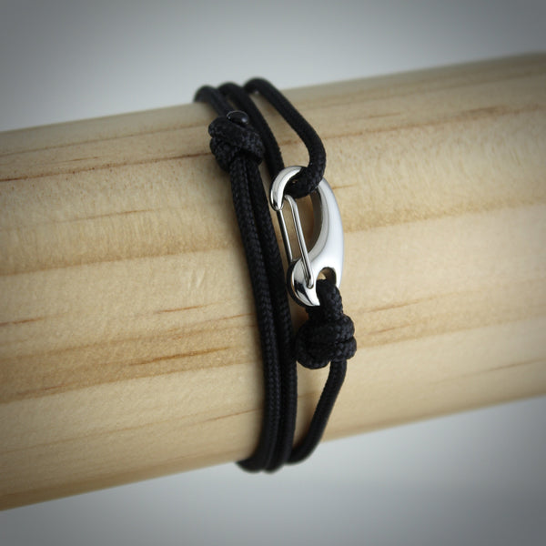 Urban Tactical Wrap Bracelet // Black