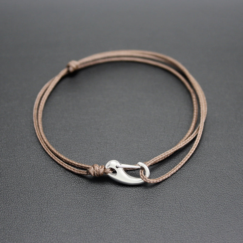 Micro Tactical Wrap Bracelet // Brown