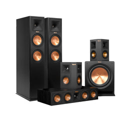 KLIPSCH R-28F REFERENCE 5.1 CHANNEL HOME THEATER SPEAKER PACKAGE (EACH) - Vinyl Sound