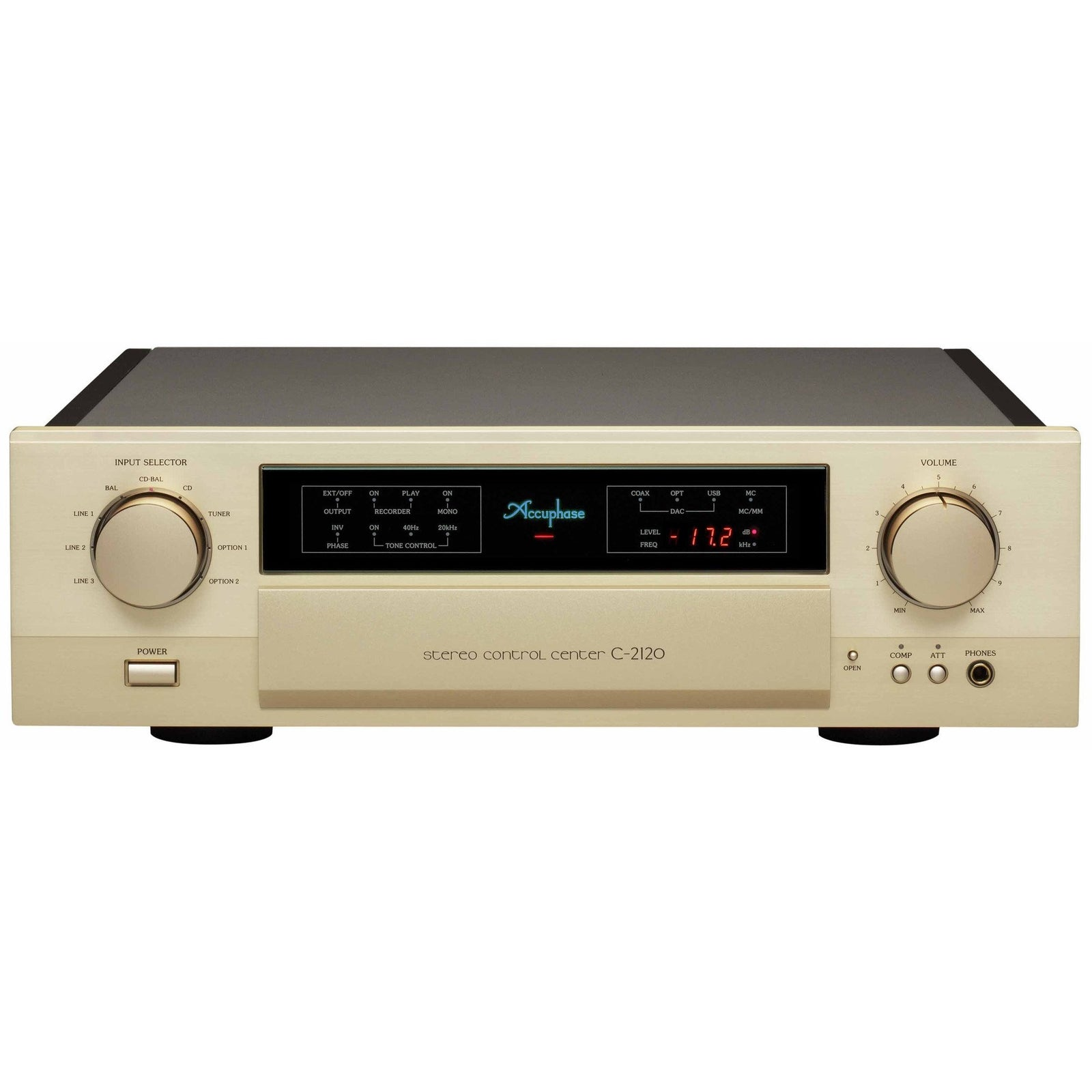 ACCUPHASE C-2120 PREAMPLIFIER - Vinyl Sound