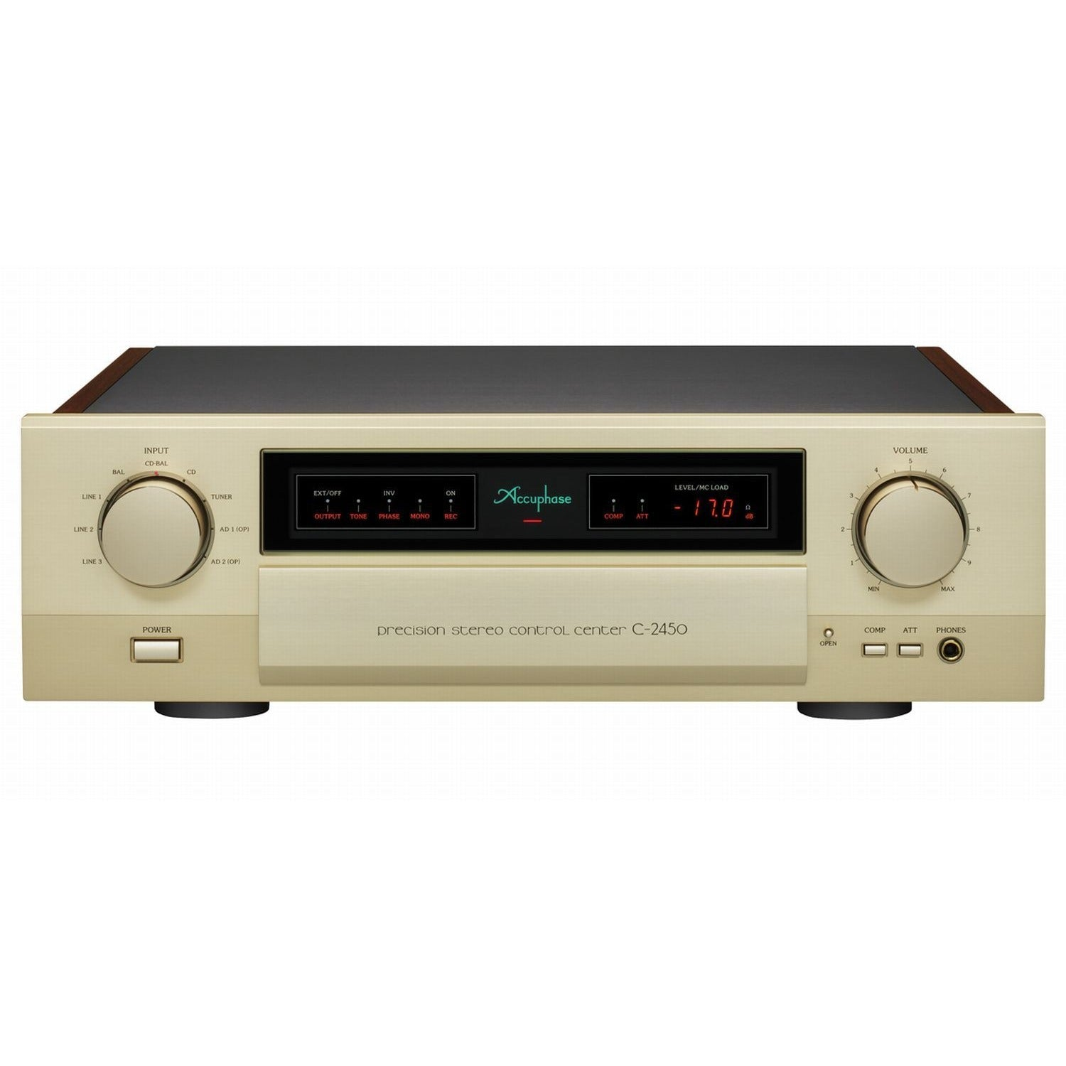 ACCUPHASE PRECISION STEREO PREAMPLIFIER C-2450 - Vinyl Sound