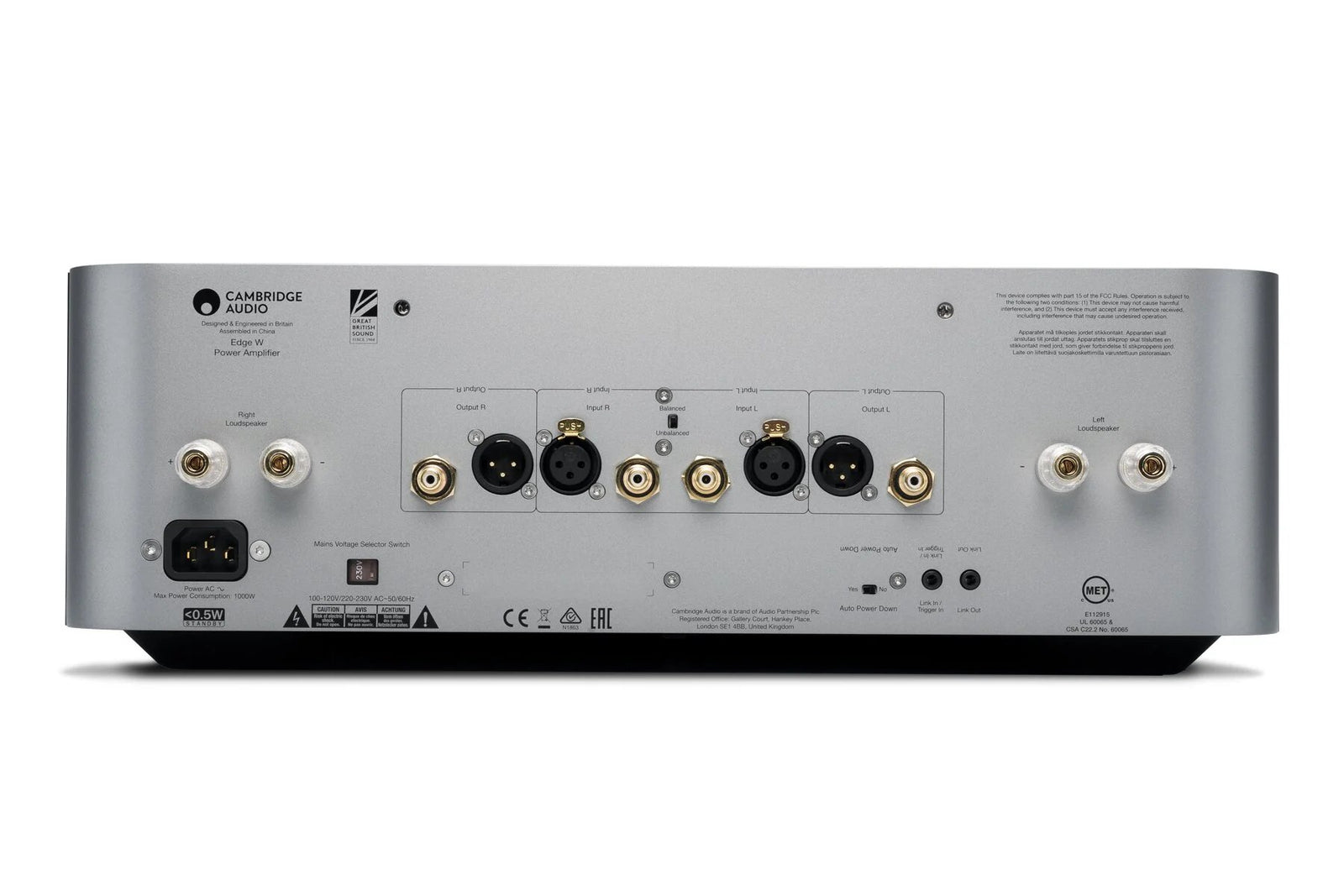 CAMBRIDGE EDGE W POWER AMPLIFIER