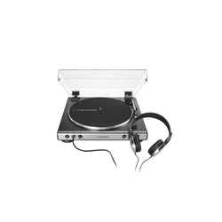 Audio-Technica AT-LP60XHP Fully Automatic Belt-Drive Turntable with Headphones