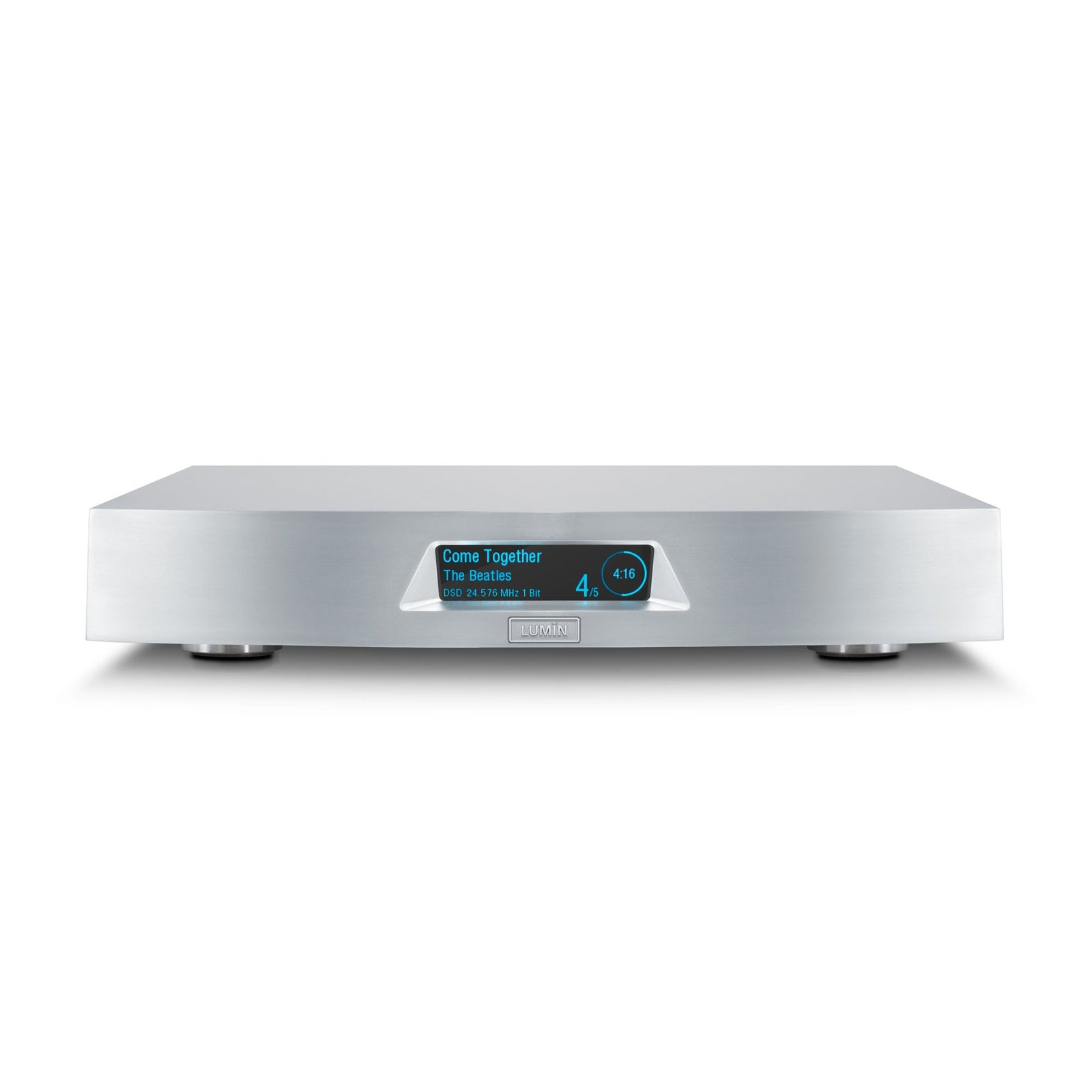 Lumin X1 Network Music Player in Silver