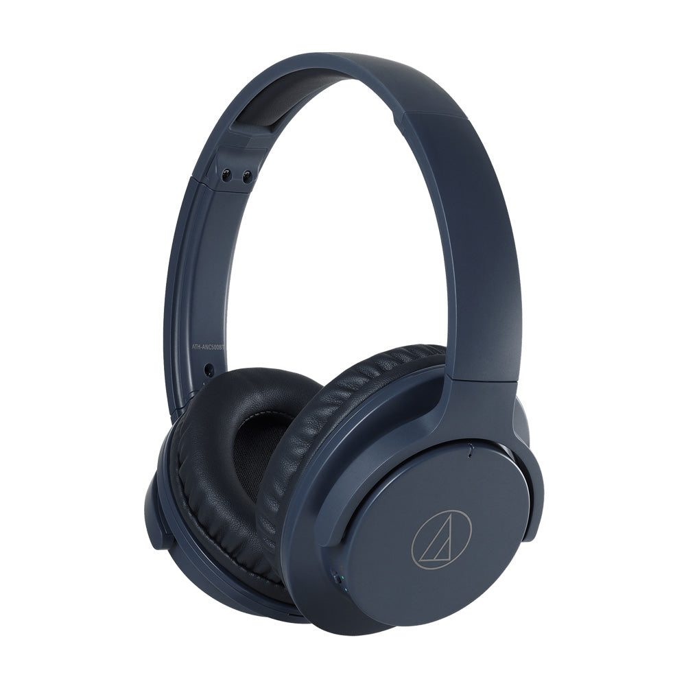 AUDIO TECHNICA - ATH-ANC500BT QUIETPOINT® WIRELESS ACTIVE NOISE-CANCELLING HEADPHONES