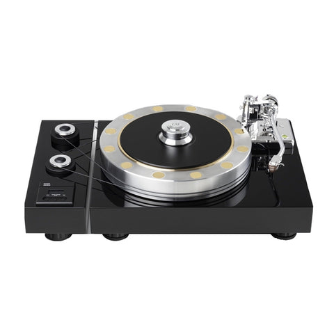 EUROPEAN AUDIO TEAM (EAT) FORTÉ S GLOSS BLACK TURNTABLE