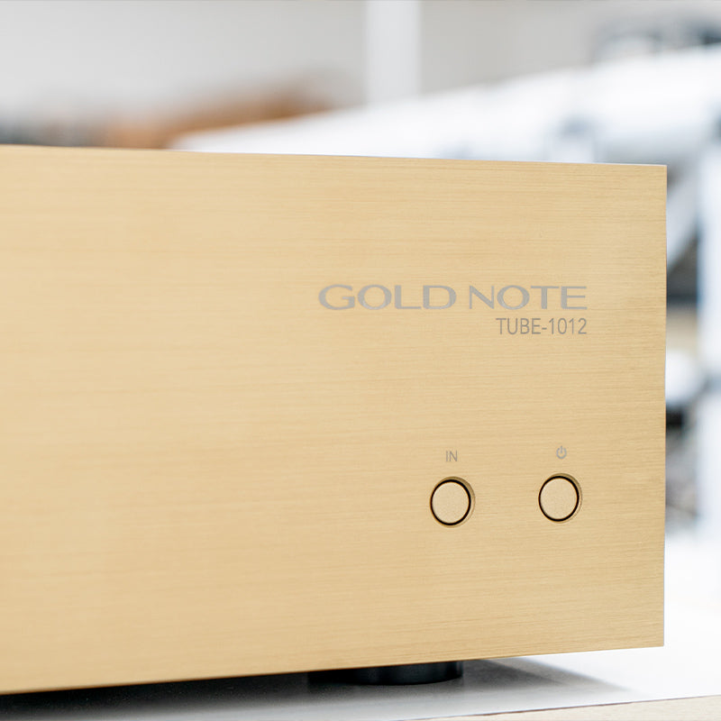 GOLD NOTE - TUBE-1012 CLASS-A TUBE OUTPUT STAGE