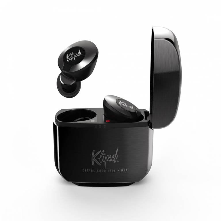 KLIPSCH - T5TWIIANCG TRUE WIRELESS WITH ACTIVE NOISE CANCELING EARPHONES