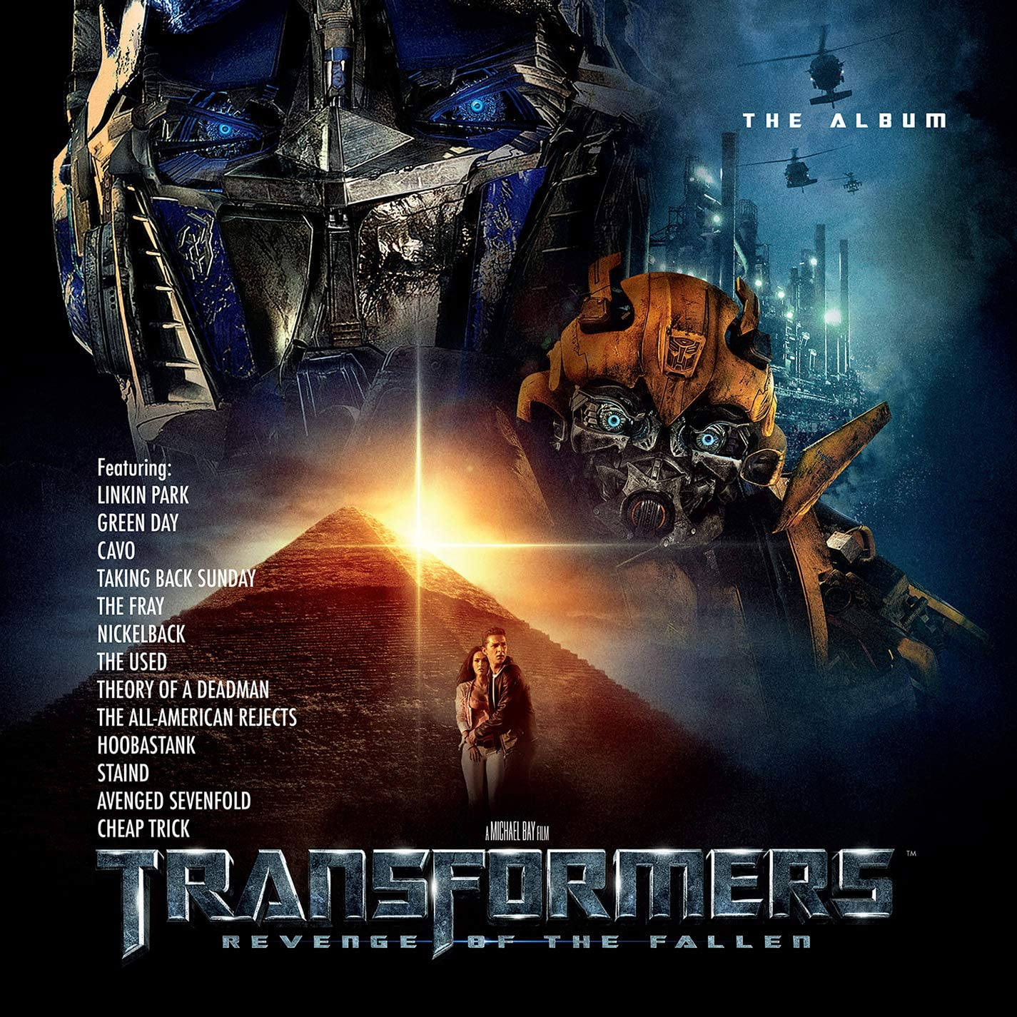 TRANSFORMERS: REVENGE OF THE FALLEN THE ALBUM (2Lp)