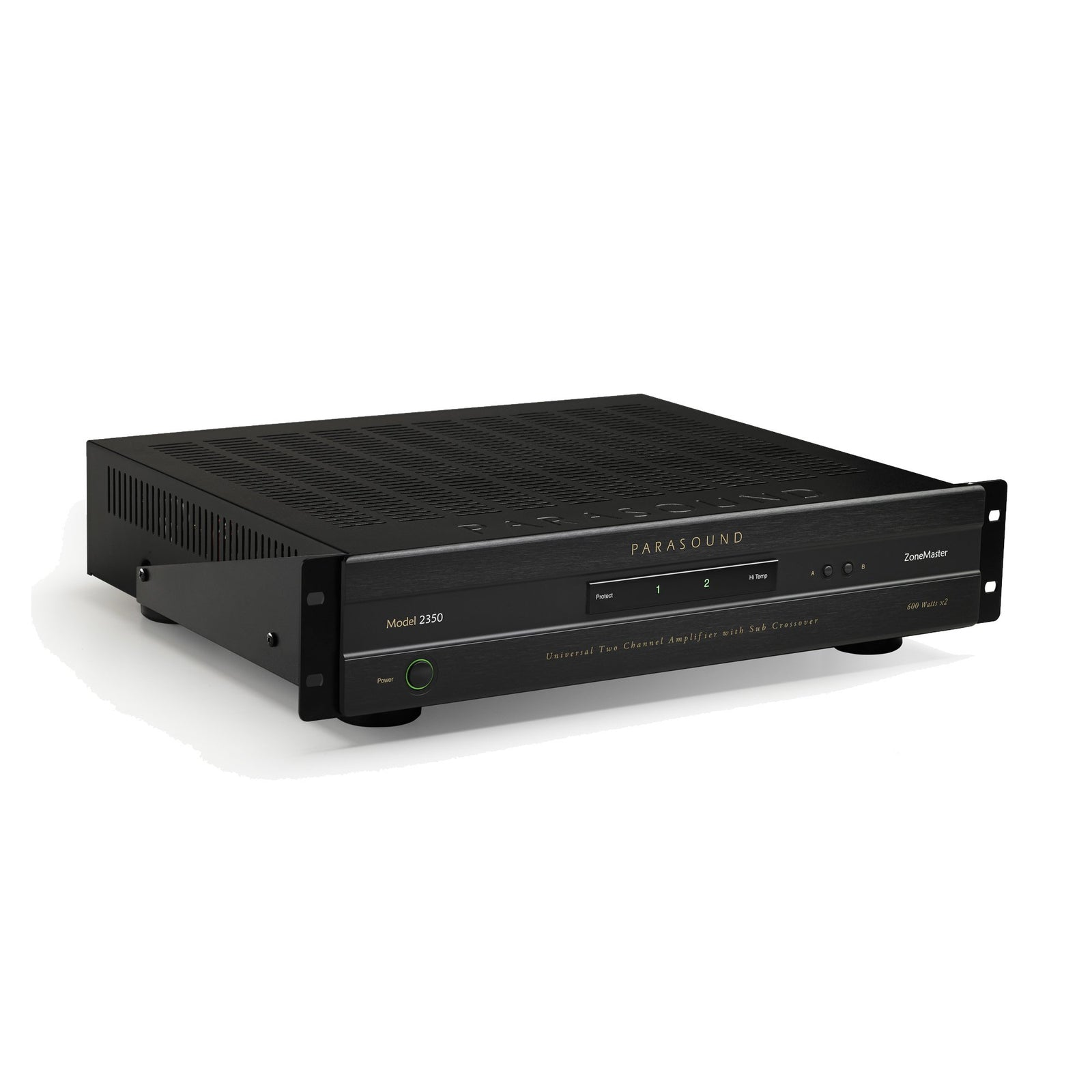 Parasound ZoneMaster 2350 Universal 2 Channel Amplifier with Sub Crossover