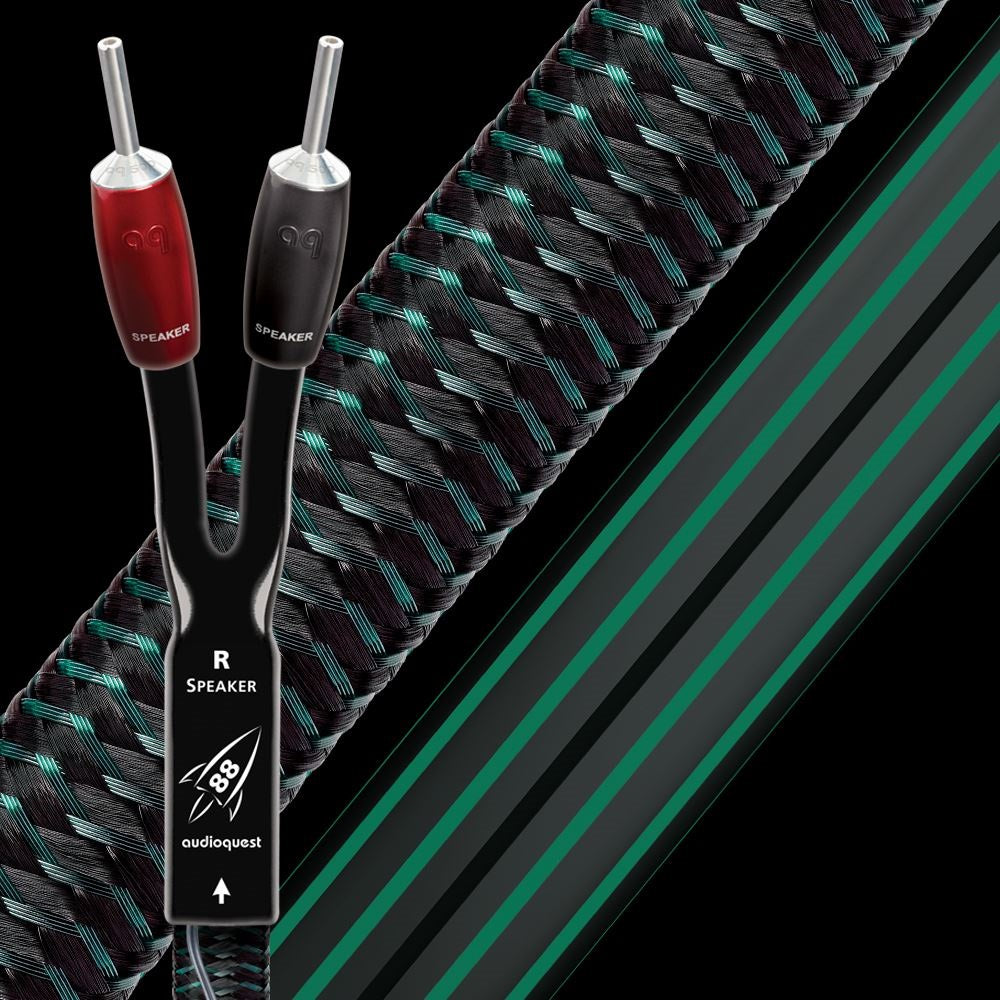 AUDIOQUEST - ROCKET 88 72v DBS SPEAKER CABLES