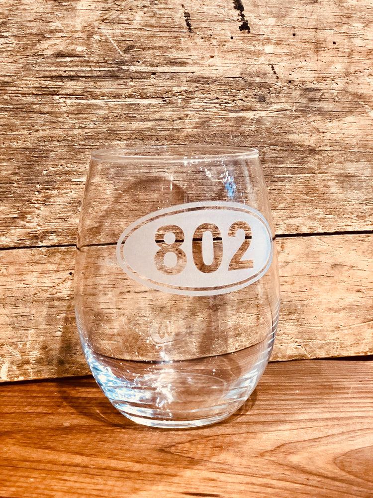 802 Euro Stemless Wine Glass