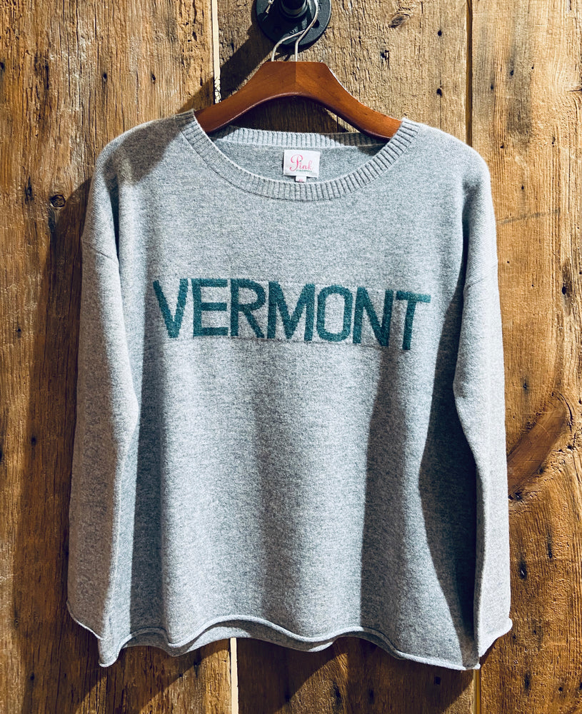 Boxy Boyfriend VERMONT Sweater Grey