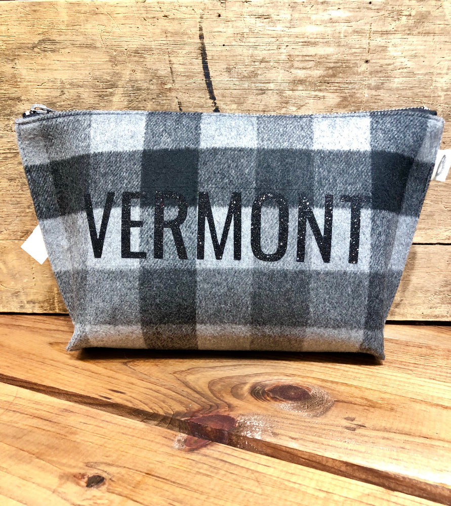 Vermont Flannel Cosmetic Case