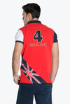 V4 Polo England Red