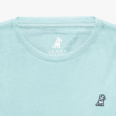 Classic Frenchie T-shirt - Light Blue